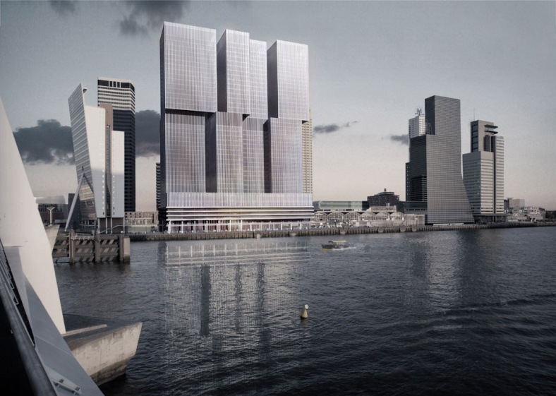 Vertical-City-'De-Rotterdam-design-by-Office-for-Metropolitan-Architecture-OMA